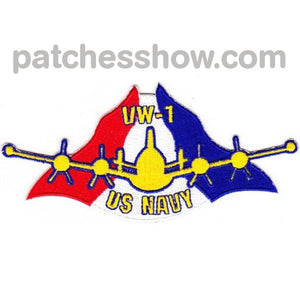 Vw-1 Early Warning Squadron Seven Patch Military Tactical Patches Embroidered Sew On Or Iron On