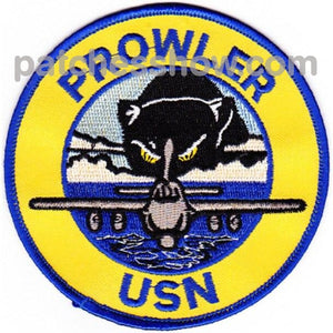 Gruman Ea-6B Prowler Round Patch Military Tactical Patches Embroidered Sew On Or Iron On Velcro Usa