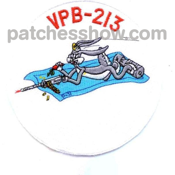 Vpb-213 Patrol Bombing Squadron Two Hundred Thirteen Patch Military Tactical Patches Embroidered Sew