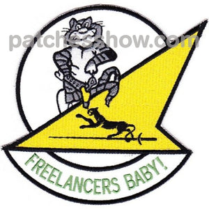 Vf-21 Patch Freelancers - Tom Cat Military Tactical Patches Embroidered Sew On Or Iron On Velcro Usa