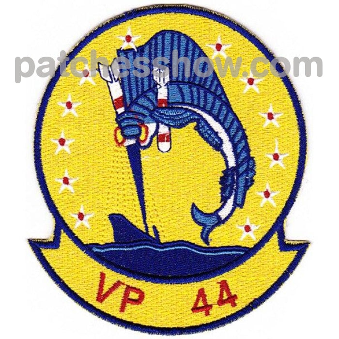 Vp-44 Aviation Patrol Squadron Fourty Four Patch Military Tactical Patches Embroidered Sew On Or