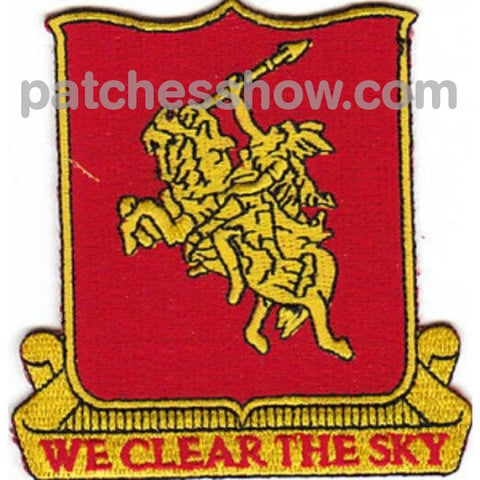 90Th Anti Aircraft Artillery Battalion Patch Military Tactical Patches Embroidered Sew On Or Iron On