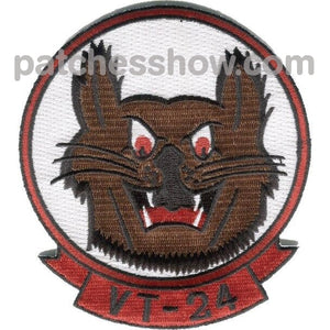 Vt-24 Training Squadron Patch Military Tactical Patches Embroidered Sew On Or Iron On Velcro Usa