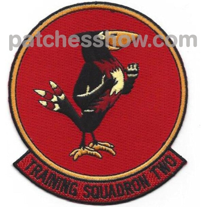 Vt-2 Training Squadron Two Patch Military Tactical Patches Embroidered Sew On Or Iron On Velcro Usa