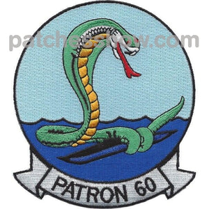 Vp-60 Patch Cobras Military Tactical Patches Embroidered Sew On Or Iron On Velcro Usa Wholesale
