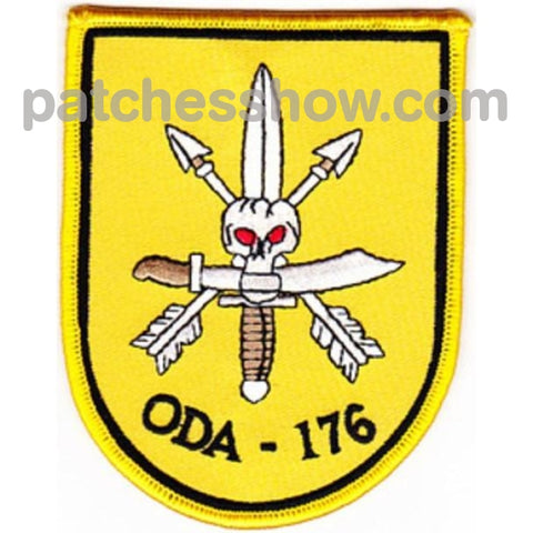 Oda-176 Patches Military Tactical Patches Embroidered Sew On Or Iron On Velcro Usa Wholesale