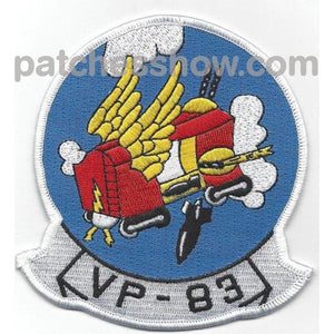 Vp-83 Aviation Patrol Squadron Eighty Three Patch Military Tactical Patches Embroidered Sew On Or