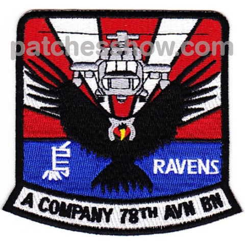 78Th Aviation Battalion A Company Patches Military Tactical Patches Embroidered Sew On Or Iron On