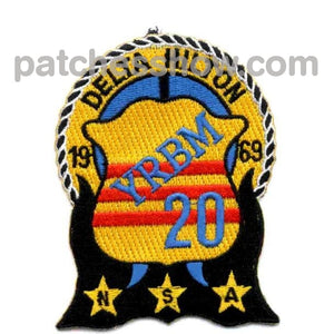 Yrbm-20 Naval Ship Yard Repair Patch Military Tactical Patches Embroidered Sew On Or Iron On Velcro