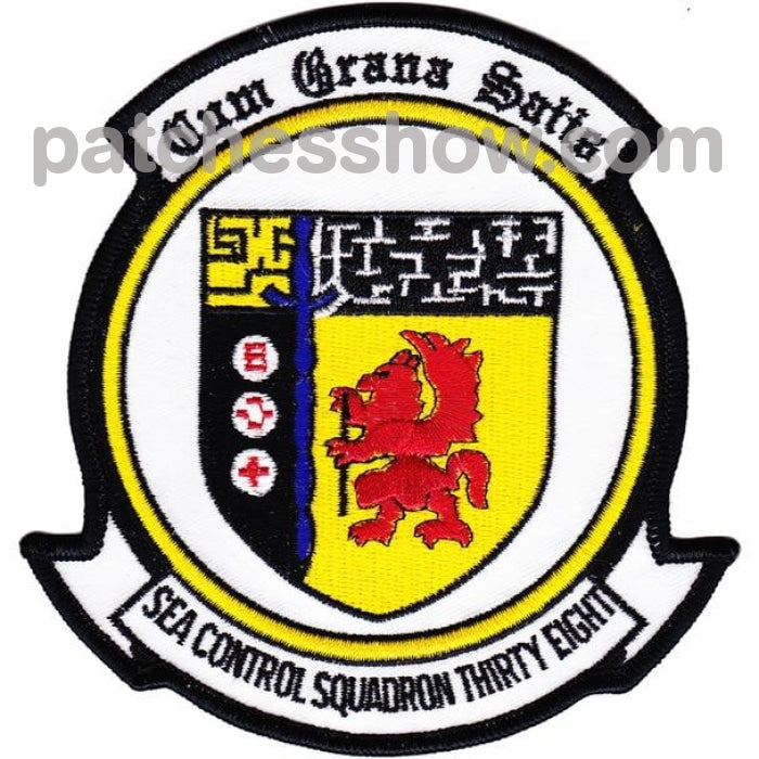 Vs-38 Aviation Air Sea Control Squadron Thirty Eight Patch Military Tactical Patches Embroidered Sew