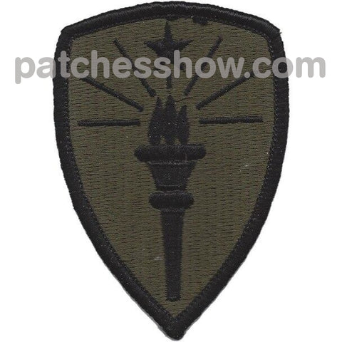 U.s. Indiana National Guard Patch Military Tactical Patches Embroidered Sew On Or Iron On Velcro Usa