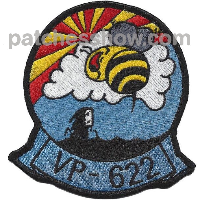 Vp-622 Patrol Squadron Patch Military Tactical Patches Embroidered Sew On Or Iron On Velcro Usa