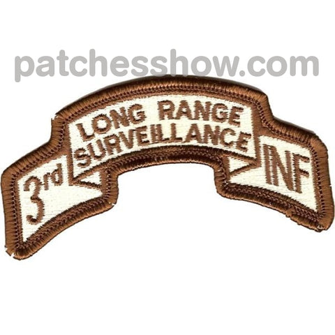 3Rd Infantry Division Long Range Desert Patch Military Tactical Patches Embroidered Sew On Or Iron