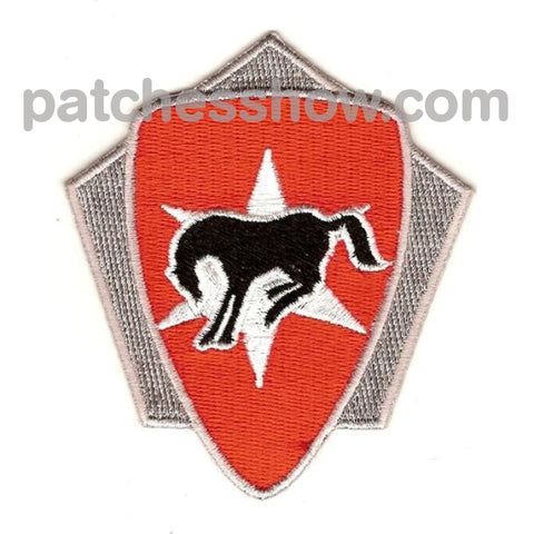 6Th Cavalry Brigade Crest Patches Military Tactical Patches Embroidered Sew On Or Iron On Velcro Usa