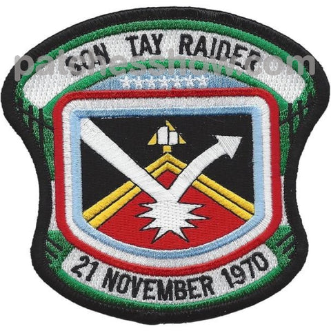 Son Tay Raider Special Forces Military Tactical Patches Embroidered Sew On Or Iron On Velcro Usa