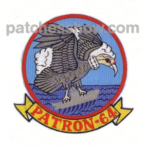 Vp-64 Patrol Squadron Patch Military Tactical Patches Embroidered Sew On Or Iron On Velcro Usa