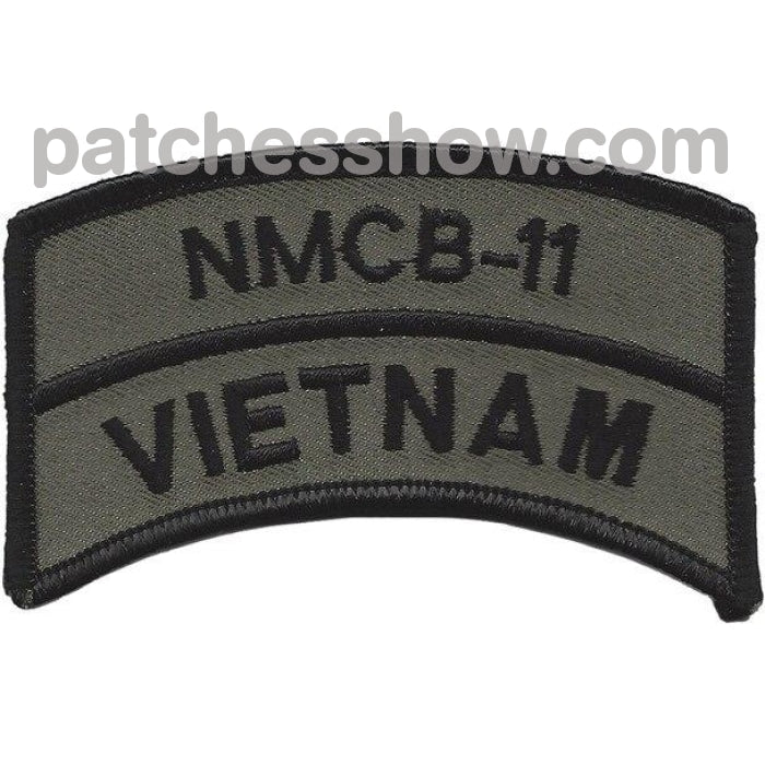 Nmcb-11 Vietnam Od Patches Military Tactical Patches Embroidered Sew On Or Iron On Velcro Usa