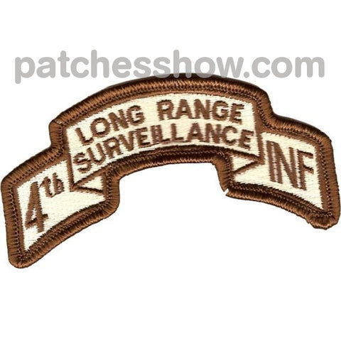 4Th Infantry Division Long Range Desert Patch Military Tactical Patches Embroidered Sew On Or Iron
