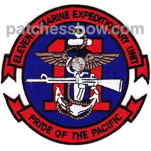 11Th Marine Expeditionary Unit Patches For Jackets Military Tactical Patches Embroidered Sew On Or