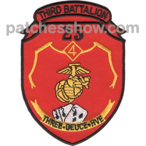 3Rd Battalion 25Th Marines 3/25 Htf Patches Military Tactical Patches Embroidered Sew On Or Iron On