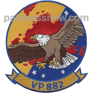 Vp-882 Reserve Squadron Patrol Patch Military Tactical Patches Embroidered Sew On Or Iron On Velcro