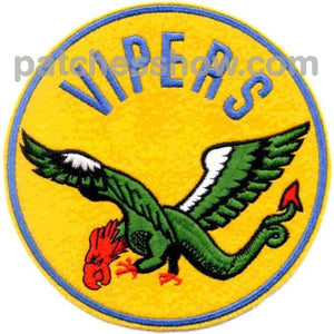 Vf-80 Patch Vipers Military Tactical Patches Embroidered Sew On Or Iron On Velcro Usa Wholesale