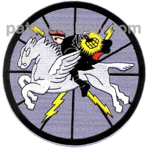 Vw-1 Aviation Air Borne Early Warning Squadron Patch Gray Version Military Tactical Patches