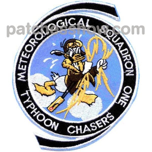 Vpm-1 Patch Typhoon Chasers Military Tactical Patches Embroidered Sew On Or Iron On Velcro Usa