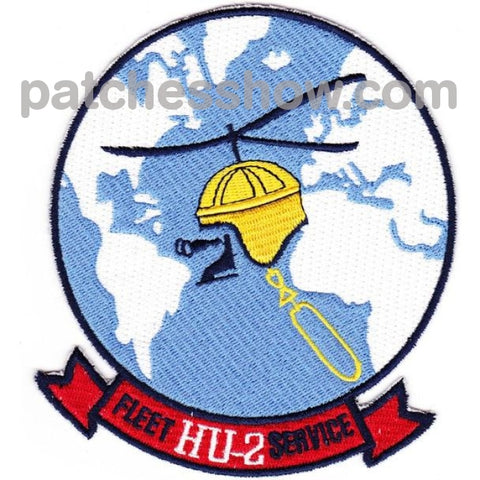Hu-2 Patches Fleet Service Angels Military Tactical Patches Embroidered Sew On Or Iron On Velcro Usa