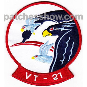 Vt-21 Aviation Training Squadron Patch Military Tactical Patches Embroidered Sew On Or Iron On