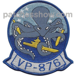 Vp-876 Patrol Squadron Patch Military Tactical Patches Embroidered Sew On Or Iron On Velcro Usa