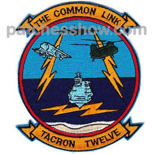 Vtc-12 Patch The Common Link Military Tactical Patches Embroidered Sew On Or Iron On Velcro Usa