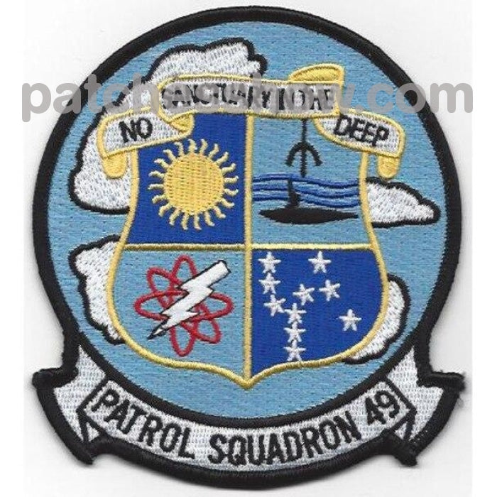 Vp-49 Patrol Squadron Patch Military Tactical Patches Embroidered Sew On Or Iron On Velcro Usa