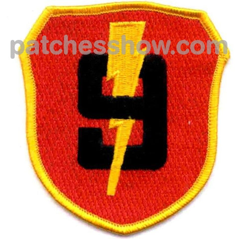 Marine 3Rd Division 9Th Regiment Patches Military Tactical Patches Embroidered Sew On Or Iron On