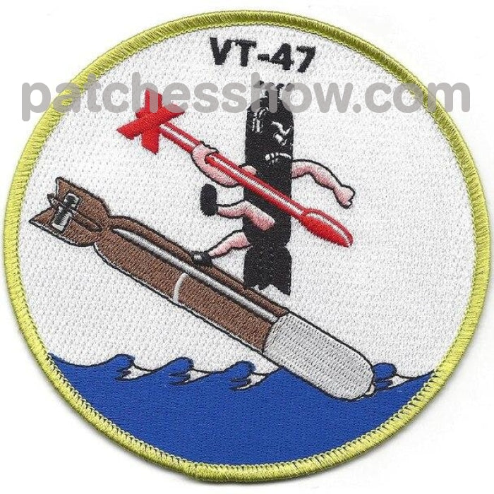 Vt-47 Torpedo Squadron Patch Military Tactical Patches Embroidered Sew On Or Iron On Velcro Usa