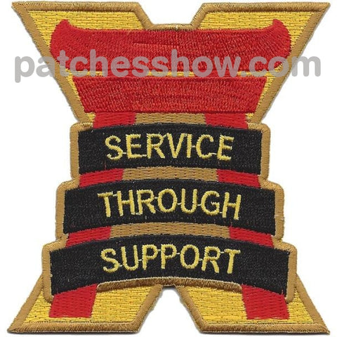 10Th Support Group Patch Military Tactical Patches Embroidered Sew On Or Iron On Velcro Usa