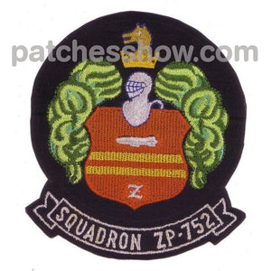 Zp-752 Aviation Airship Patrol Squadron Patch Military Tactical Patches Embroidered Sew On Or Iron