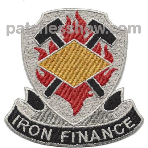 8Th Finance Battalion Patch Military Tactical Patches Embroidered Sew On Or Iron On Velcro Usa