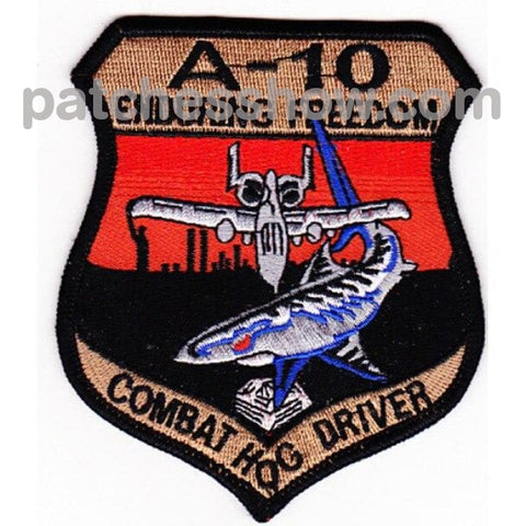 Fairchild Republic A-10 Thunderbolt Ii Patch Enduring Freedom Military Tactical Patches Embroidered