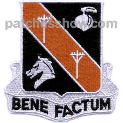 40Th Signal Battalion Patch Bene Factum Vietnam Military Tactical Patches Embroidered Sew On Or Iron