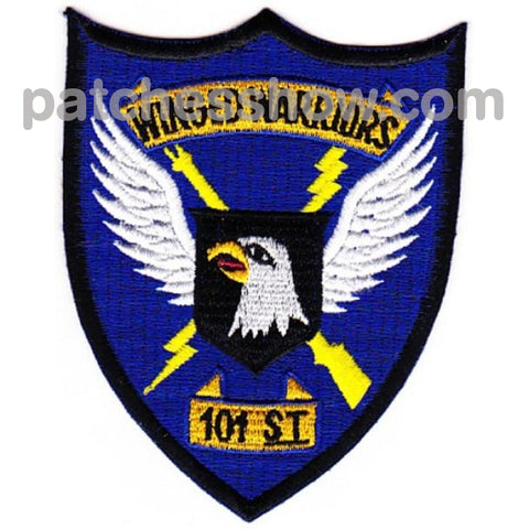 101St Division Winged Warriors Patch Military Tactical Patches Embroidered Sew On Or Iron On Velcro