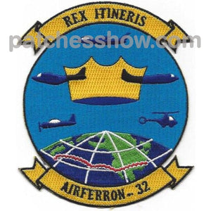 Vrf-32 Aviation Air Transportation Ferry Squadron Thirty Two Patch Military Tactical Patches