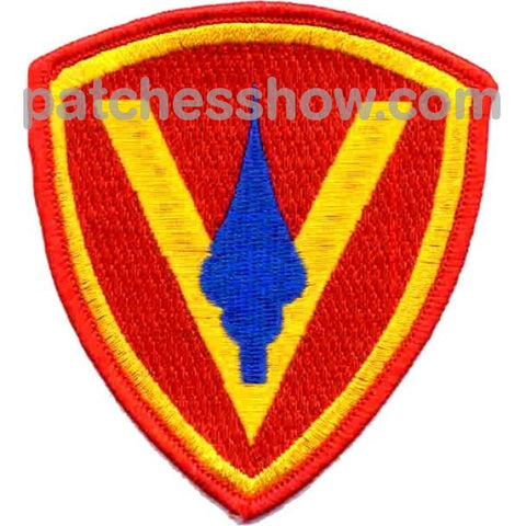 5Th Marines Division Patches Military Tactical Patches Embroidered Sew On Or Iron On Velcro Usa