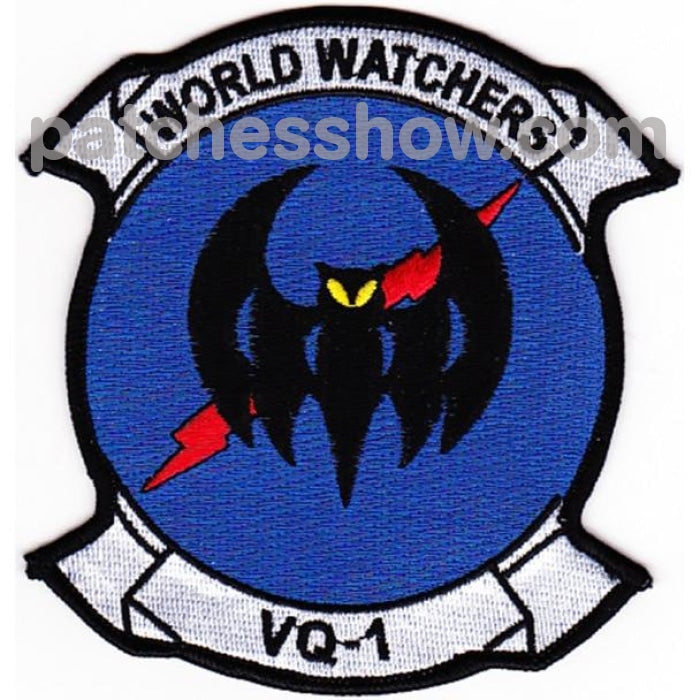 Vq-1 Patch - Version A Military Tactical Patches Embroidered Sew On Or Iron On Velcro Usa Wholesale