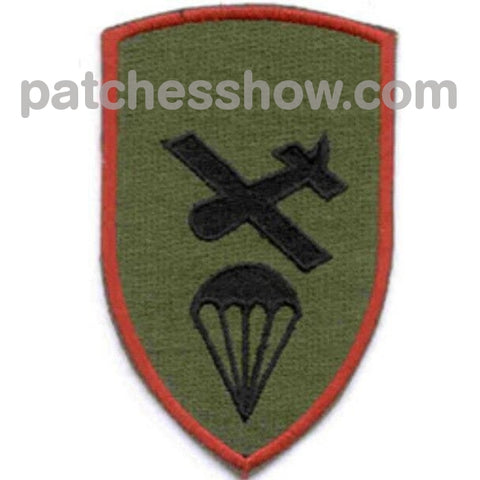 Airborne Glider Operations Command Patch Od Military Tactical Patches Embroidered Sew On Or Iron On