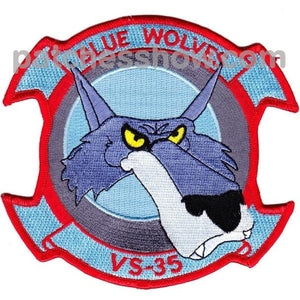 Vs-35 Aviation Air Sea Control Squadron Thirty Five Patch Military Tactical Patches Embroidered Sew