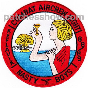 Vp-8 Patch Nasty Boys Military Tactical Patches Embroidered Sew On Or Iron On Velcro Usa Wholesale