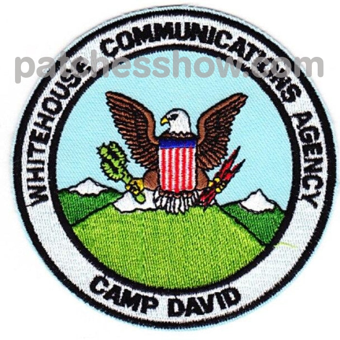 White House Communications Agency Camp David Patch Military Tactical Patches Embroidered Sew On Or