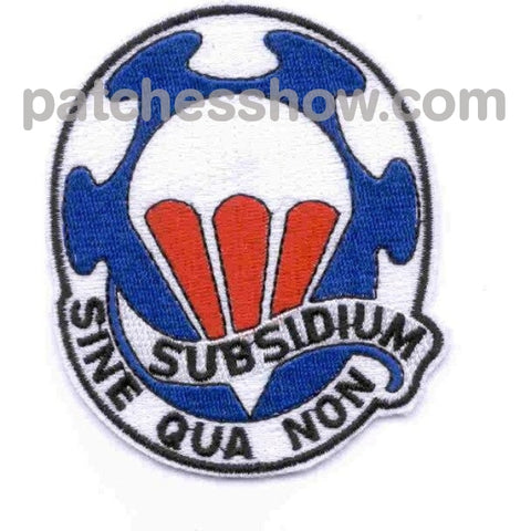 82Nd Airborne Support Battalion Subsidium Patch Military Tactical Patches Embroidered Sew On Or Iron