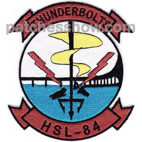 Hsl-84 Patches Thunderbolts Military Tactical Patches Embroidered Sew On Or Iron On Velcro Usa